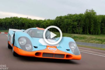 video porsche 917k pelicula le mans