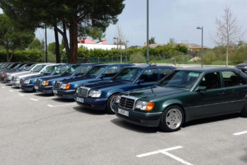 mercedes w124 500e reunion madrid