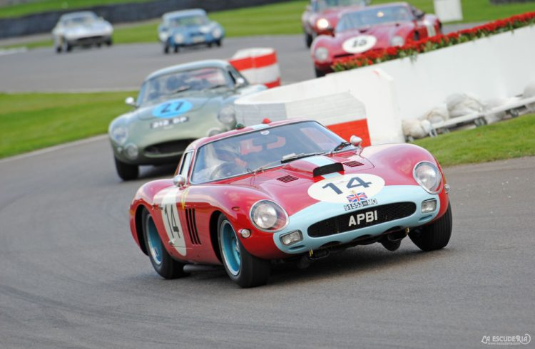 Ferrari 250 GTO Goodwood Revival 2014