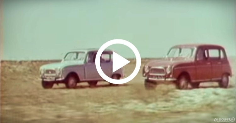 video renault 4 campo