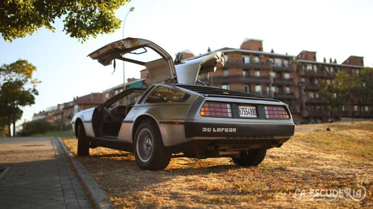 video delorean dmc12 madrid
