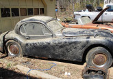 jaguar xk120 fhc barn find