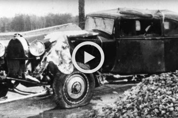 video bugatti royale prototype restoration