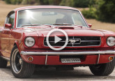 video ford mustang fastback restomod 65