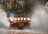 video porsche 911 safari agua
