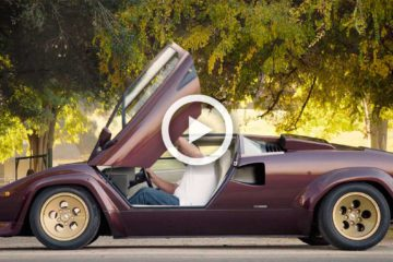 video lamborghini countach valentino balboni