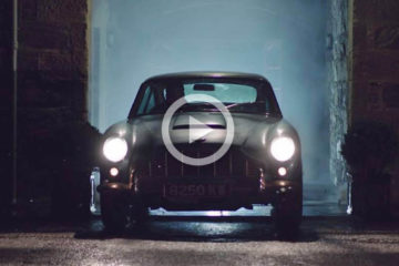 video aston martin db5 patina