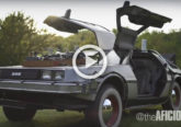 delorean dmc 12 regrso al futuro 3 restaurado