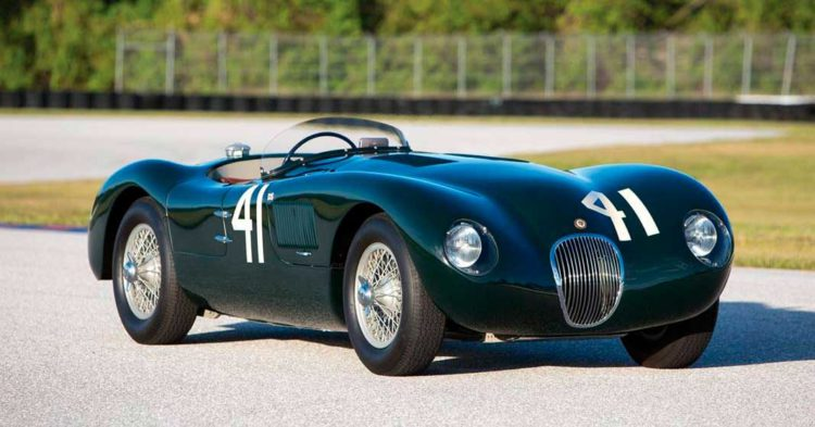 jaguar c type auction