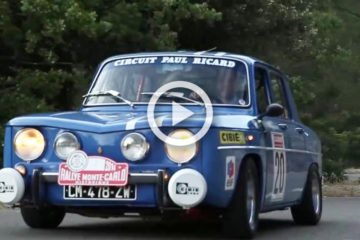 renault 8 gordini video