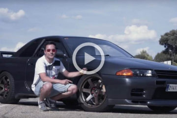 nissan gtr video historia españa