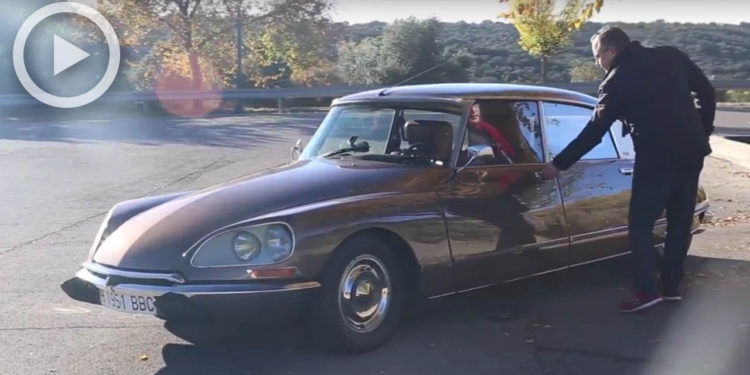 citroen ds teaser video