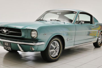 ford mustang fastback 1965 conservado