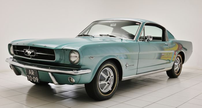 ford mustang fastback estado original