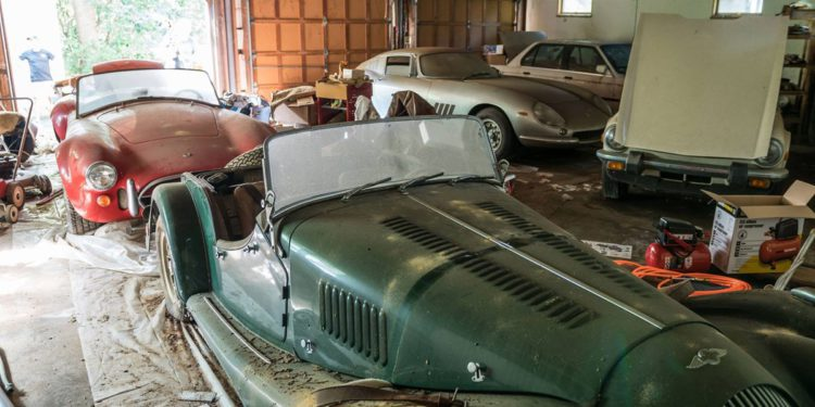 barn find hunter ferrari cobra