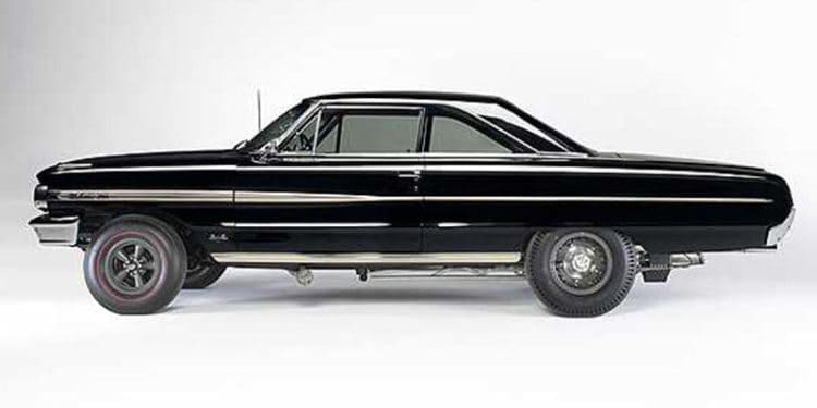 ford galaxie turbine car