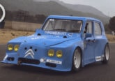 dyane 6 24 horas de spa power art 2CV español