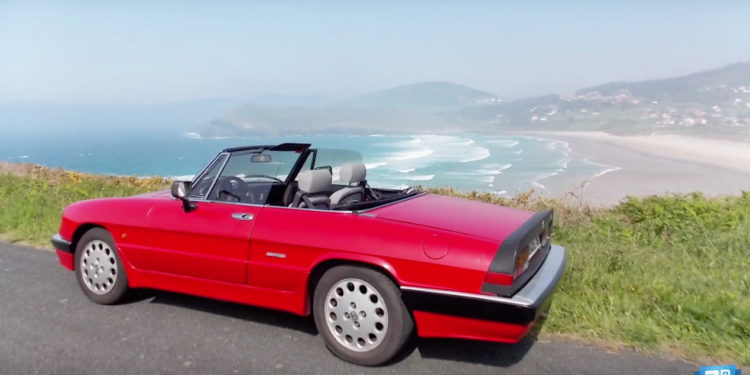 alfa romeo spider en video documentos motor