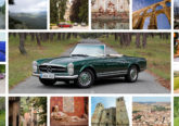 classic car rental spain