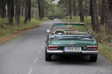 classic car rental madrid
