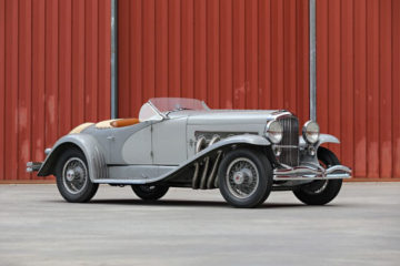 duesenberg ssj peeble beach auction gary cooper