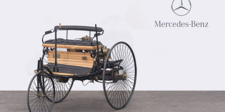 mercedes benz 1886 ideal replica motorwagen triciclo 1886