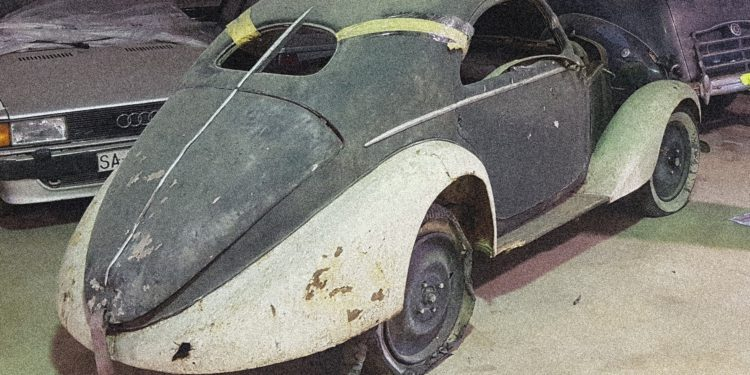Fiat Balilla Berlinetta Aerodinamica Barn Find