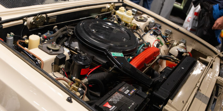 motor fiat 130 coupe